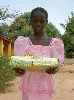 För 13 år sedan fick hon en gåva: utbildning!
