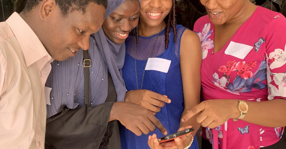Undervisning online på universitetet i Gambia